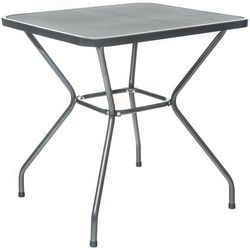 Happy Green stół kwadratowy ze stali MAINE 70 x 70 cm