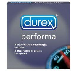 Durex  performa prezerwatywy 3 szt. opóźniające wytrysk