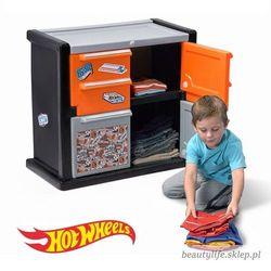 Step2 szafka na ubrania dla chłopca hot wheels™ race car dresser™