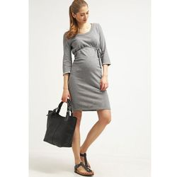 MAMALICIOUS MLSVEA Sukienka z dżerseju light grey melange