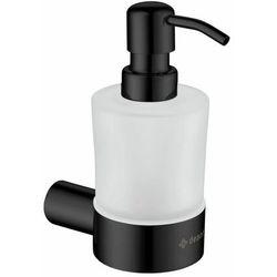 adr_n421 round dozownik mydła, ścienny, nero - nowość marki Deante