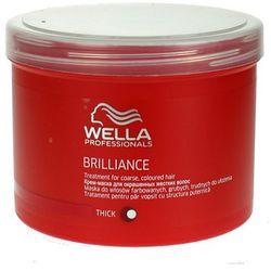 Wella Brilliance - maska do grubych włosów farbowanych 500ml - produkt z kategorii- Odżywianie włosów