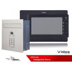 Vidos Zestaw jednorodzinny wideodomofonu . skrzynka na listy z wideodomofonem. monitor 7'' s561d-skp_m320b