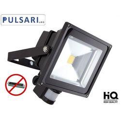 Halogen Reflektor Naświetlacz PULSARI LED 30W czujnik ruchu i zmierzchu IP65