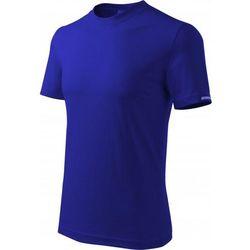 Koszulka męska DEDRA T-shirt granatowa XXL(BH5TG-XXL) (5902628211798)