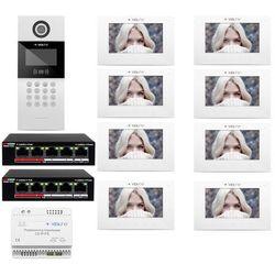 Wideodomofon IP 8-rodzinny VidiLine C5-IP