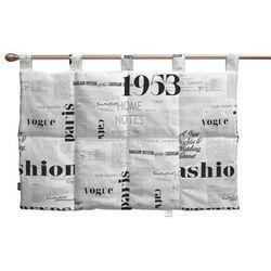 wezgłowie na szelkach, motyw gazety, 90 x 67 cm, freestyle marki Dekoria