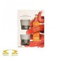 Whisky Johnnie Walker Red Label 0,7l Limitowana Edycja + 2 szklanki