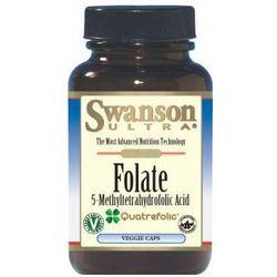 Folian - quatrefolic 400mcg 30 kapsułek wyprodukowany przez Swanson