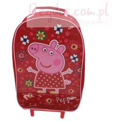 Plecak Peppa Pig walizka na kółkach Świnka Peppa, Textiel