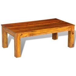 vidaXL Stolik kawowy z litego drewna 110 x 60 40 cm (8718475918196)