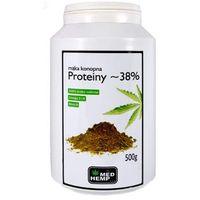 Mąka konopna Proteiny ~ 38% 500g w puszce