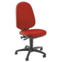 Standardowe krzesło obrotowe, bez poręczy, oparcie 550 mm, szkielet czarny, mate