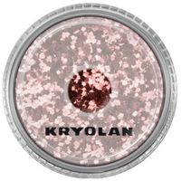 polyester glimmer coarse (rose) gruby sypki brokat - rose (2901) marki Kryolan