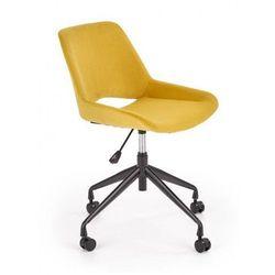 Producent: elior Młodzieżowy fotel tapicerowany do biurka victor- musztardowy