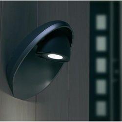 Lutec eggo zewnętrzny kinkiet led antracytowy, 3-punktowe marki Oświetlenie lutec by eco light