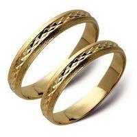 Obrączki złote zołte lub białe złoto ST16