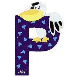 SEVI Literka P z kategorii Dekoracje i ozdoby dla dzieci