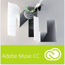 Adobe Muse CC dla użytkowników wcześniejszych wersji - Subskrypcja (oprogramowanie)