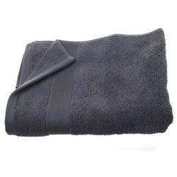 Atmosphera créateur d'intérieur Bawełniany ręcznik kąpielowy - kolor szary 130 x 70 cm