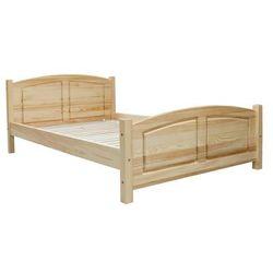 Łóżko sosnowe Mega