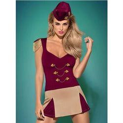 Majoretta kostium 4-częściowy S/M - produkt z kategorii- Kostiumy erotyczne