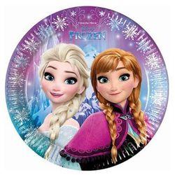 Talerzyki urodzinowe Frozen - Kraina Lodu - 23 cm - 8 szt. (5201184867556)