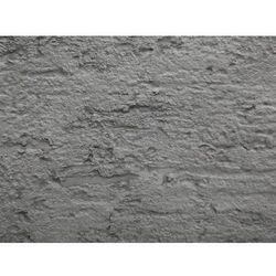 Doniczka szara kwadratowa 39 x 39 x 43 cm delos marki Beliani