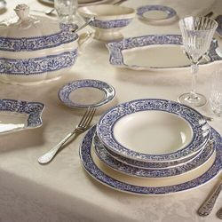 Pickman serwis obiadowy imperio 150 aniversario 27 elementów marki La cartuja de sevilla