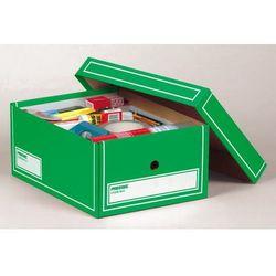 PRESSEL Pudło archiwizacyjne A4 350x255x155mm zielony, 10 sztukac