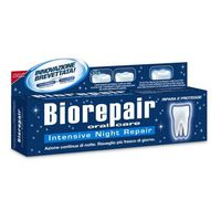 ® night - pasta z cząsteczkami microrepair naprawiająca powierzchnię szkliwa, bez fluoru 75ml marki Biorep