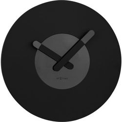 Nextime Zegar ścienny in touch black by