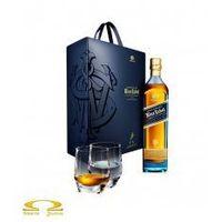 Whisky  blue label 0,7l limitowana edycja + 2 szklanki od producenta Johnnie walker