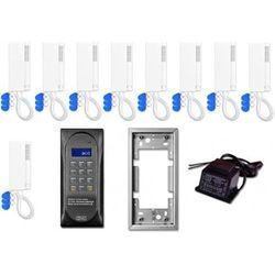 Aco Domofon wielolokatorski cdnp6acc dla 9 lokatorów.