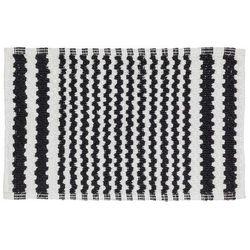 dywanik łazienkowy motif, 50 x 80 cm, czarny 294445419 marki Sealskin