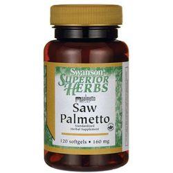Saw Palmetto extract 160mg 120kaps z kategorii pozostałe zdrowie