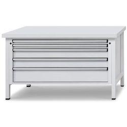 Stół warsztatowy z szufladami XL/XXL,szer. 1500 mm, 5 szuflad