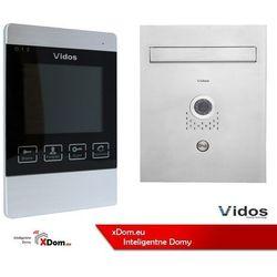 Zestaw VIDOS skrzynka na listy z wideodomofonem. Monitor 4,3'' S551-SKP_M904S