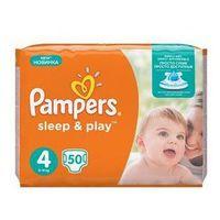 Pieluszki Pampers Sleep&Play rozmiar 4 maxi, 50 szt.