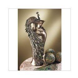 Unikatowy wazon z pięknym pawiem (an10505v4) marki Veronese