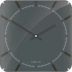 Zegar ścienny 3173 Michael Square Dome 35x35cm Nextime