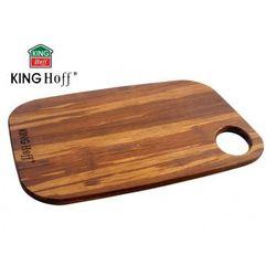 Deska do krojenia 27 x 19cm bambusowa  [kh-1138] marki Kinghoff