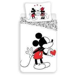 dziecięca pościel bawełniana mickey hearts 2016, 140 x 200 cm, 70 x 90 cm marki Jerry fabrics