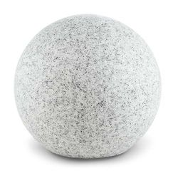 Lightcraft shinestone xl kula świetlna zewnętrzna lampa ogrodowa 50 cm optyka kamienia