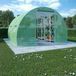 VidaXL Szklarnia ogrodowa ze stalową konstrukcją, 9m², 300x300x200cm (8718475723394)