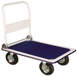 wózek ręczny z dmuchanymi kołami - ładowność 300kg marki Erba