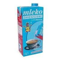 1kg 7,5% mleko zagęszczone niesłodzone marki Gostyń