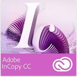 Adobe InCopy CC Multi European Languages Win/Mac - Subskrypcja (12 m-ce) - sprawdź w wybranym sklepie