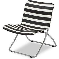 Skagerak Krzesło plażowe lise czarne pasy (5706420087588)