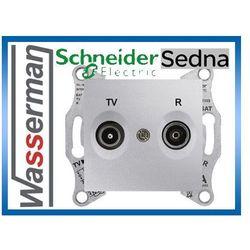 Gniazdo rtv przelotowe sdn3301821 sedna schneider, marki Schneider electric